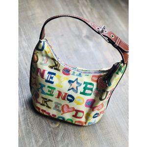 Dooney & Bourne Graffiti Bucket Bag